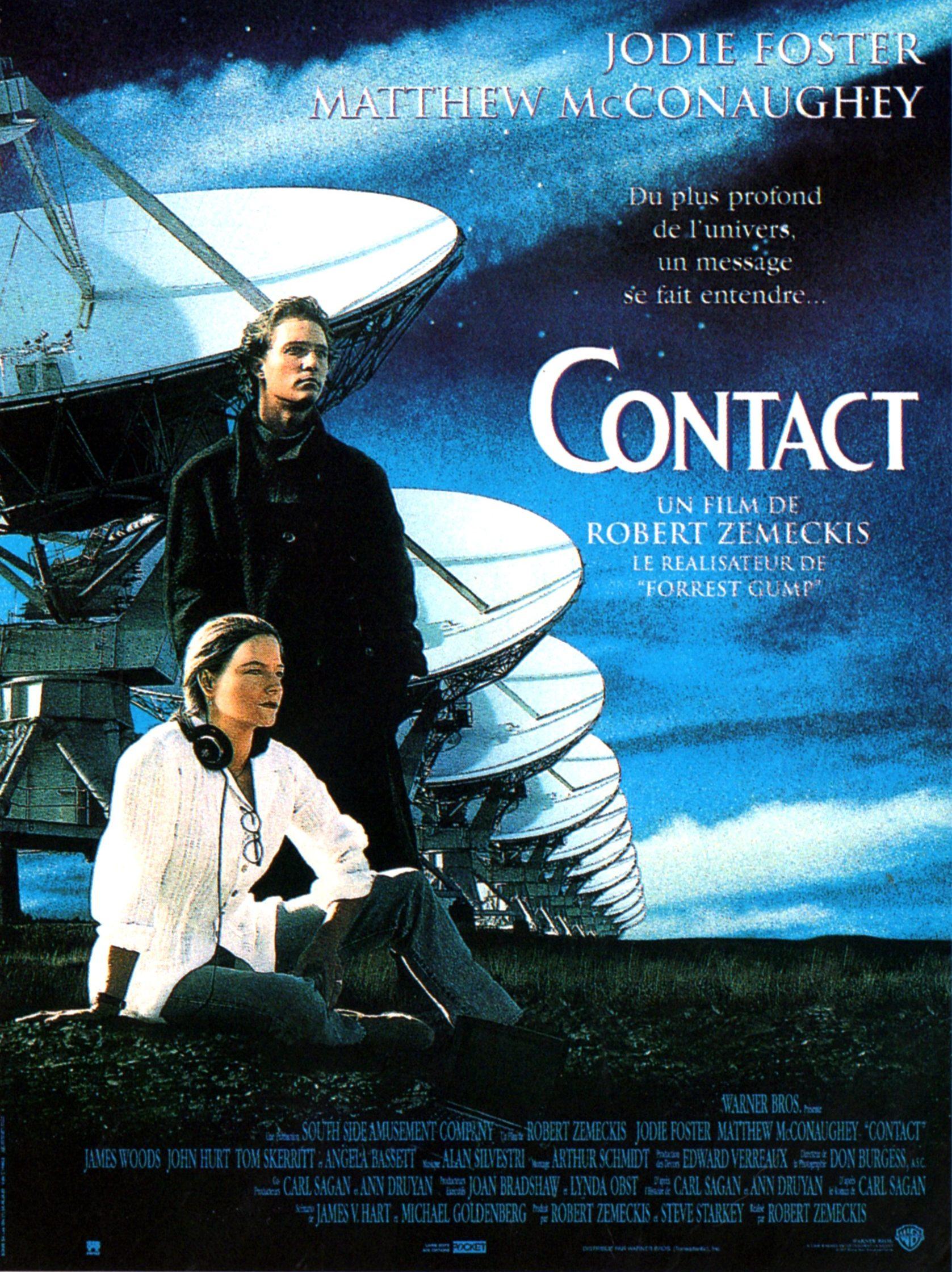 Affiche du film Contact de Robert Zemeckis