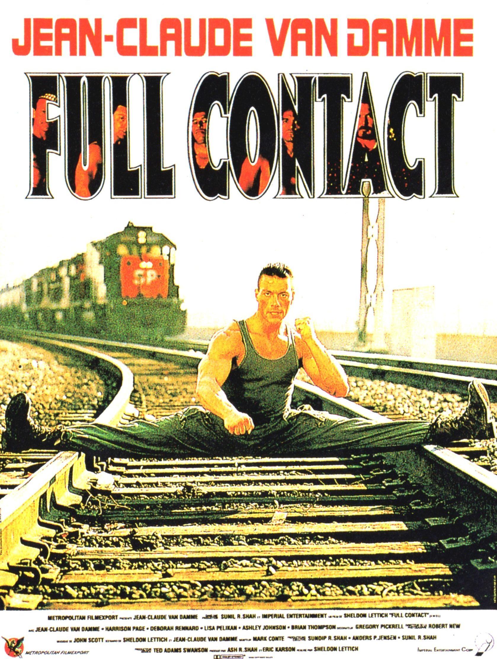 Affiche du film Full Contact avec Jean-Claude Van Damme